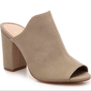 Mix No. 6 Tonia Sandals Mules Block Heels Shoes